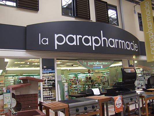 parapharmacie-enseigne - caisson